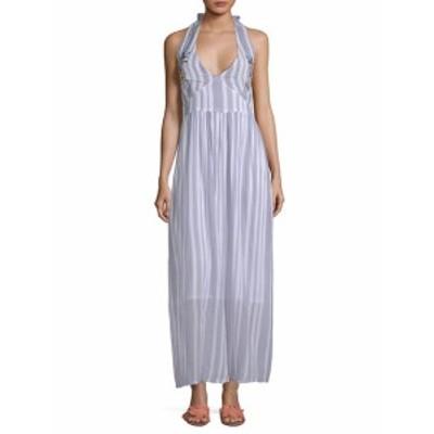 ラーガ レディース ワンピース Setting Striped Maxi Dress