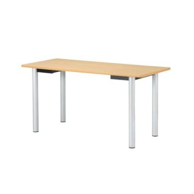 ミーティングテーブル 幅1800mm 奥行900mm 角型 会議テーブル ダイニングテーブル 介護施設 オフィス ハイテーブル 大型テーブル カウンター NNS-1890K
