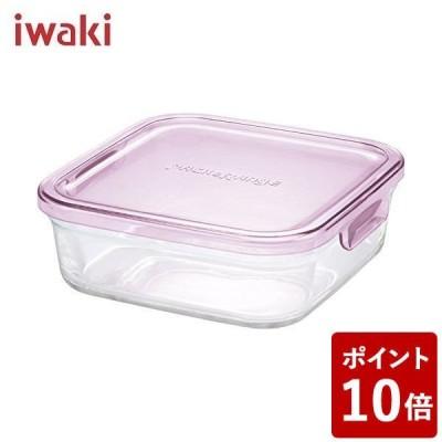 iwaki パック&レンジBOX(小) ピンク AGCテクノグラス CODE:123187 イワキ パックレンジ パックアンドレンジ