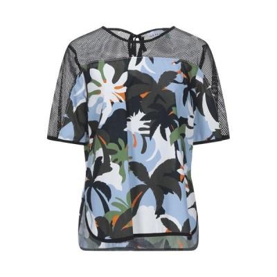 SFIZIO ブラウス  レディースファッション  トップス  シャツ、ブラウス  長袖 ブラック
