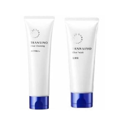 第一三共ヘルスケア トランシーノ 薬用クリアウォッシュ+薬用クリアクレンジングn 洗顔セット