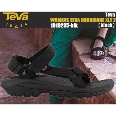 TEVA WMNS HURRICANE XLT2 BLACK テバ ウィメンズ ハリケーン サンダル レディース ブラック スポーツサンダル キャンプ アウトドア フェス ウィメンズ 1019235