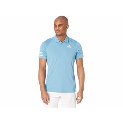 (取寄)アディダス クラブ 3ストライプ ポロ adidas Club 3-Stripes Polo Hazy Blue/White
