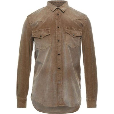 ディーゼル DIESEL メンズ シャツ トップス Solid Color Shirt Camel