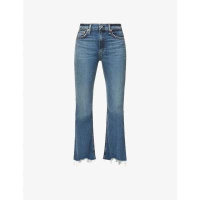 ラグ&ボーン RAG & BONE レディース ジーンズ・デニム ボトムス・パンツ Nina skinny high-rise jeans Copper Hil