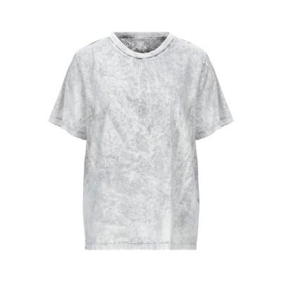 ステラ マッカートニー STELLA McCARTNEY T シャツ ライトグレー 42 コットン 100% / ポリエチレン T シャツ