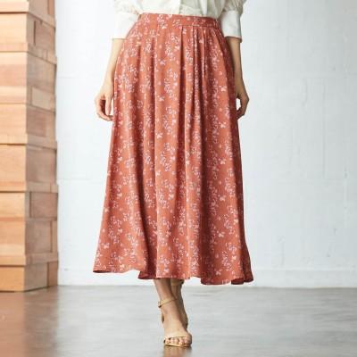 フラワープリントスカート(スタイルノート/StyleNote)