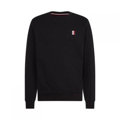 トミー ヒルフィガー Tommy Hilfiger メンズ スウェット・トレーナー トップス Modern Essentials Sweatshirt Black