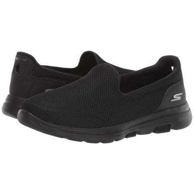スケッチャーズ Go Walk 5 - 15901 レディース スニーカー Black