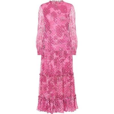 リキソ Rixo レディース ワンピース ミドル丈 ワンピース・ドレス Becky floral midi dress Abstract 60s Floral Swirl