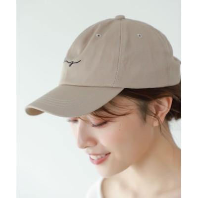 Edit Sheen / 刺繍ロゴキャップ WOMEN 帽子 > キャップ