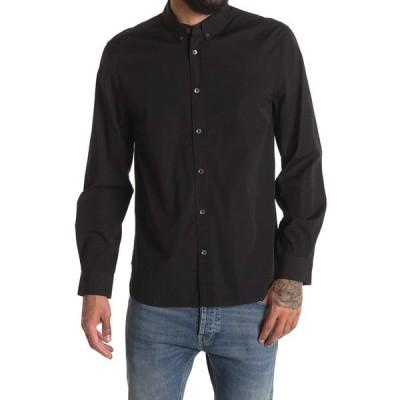 ボールドウィンデニム メンズ シャツ トップス Standard Slim Fit Shirt BLCK