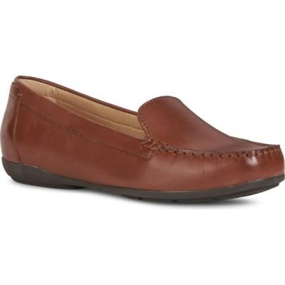 ジェオックス GEOX レディース スリッポン・フラット シューズ・靴 Annytahmoc Flat Brown