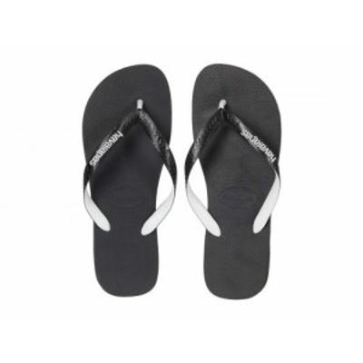 Havaianas ハワイアナス メンズ 男性用 シューズ 靴 サンダル Top Mix Flip Flops Black/Black【送料無料】