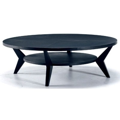 PERFORMAX サークルリビングテーブル 木製天板 受注生産品