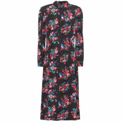 マーク ジェイコブス Marc Jacobs レディース ワンピース ワンピース・ドレス The 40s floral jacquard dress Black Multi