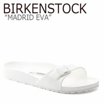 ビルケンシュトック サンダル BIRKENSTOCK レディース MADRID EVA マドリッド エヴァ WHITE ホワイト 128183 シューズ