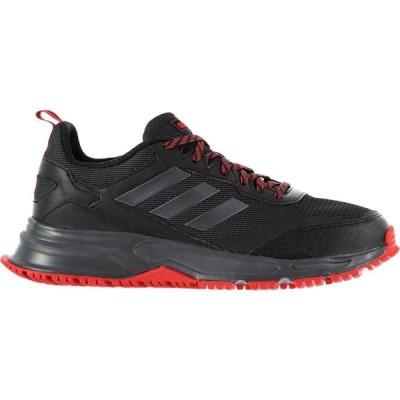 アディダス adidas メンズ ランニング・ウォーキング シューズ・靴 Rockadia 3 Trail Running Shoes Black/Red
