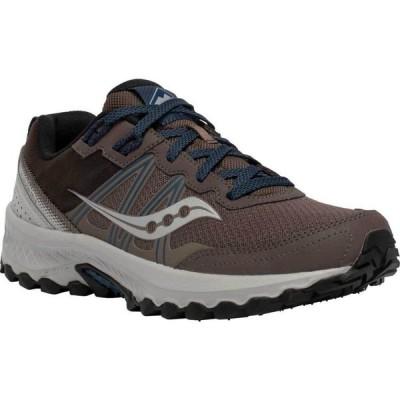 サッカニー Saucony メンズ ランニング・ウォーキング スニーカー シューズ・靴 Excursion TR14 Trail Running Sneaker Gravel/Storm
