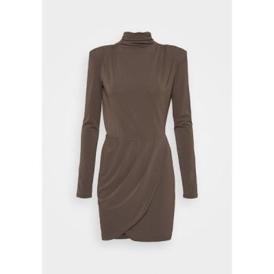 パトリツィア ペペ ワンピース レディース トップス ABITO DRESS - Cocktail dress / Party dress - brown