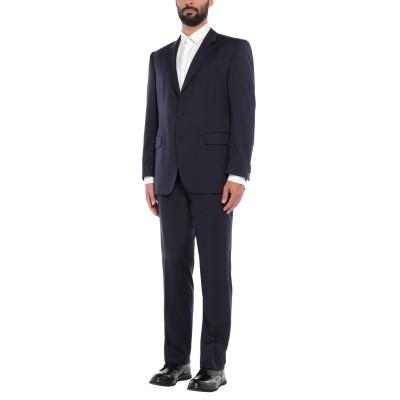 KARL REYER スーツ ダークブルー 56 バージンウール 100% スーツ