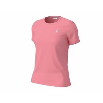 ルコック:【レディース】半袖シャツ【le coq sportif スポーツ フィットネス 半袖 Tシャツ】