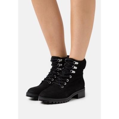 アルド ブーツ&レインブーツ レディース シューズ RHAYMMA - Lace-up ankle boots - black