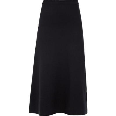 ガブリエラ ハースト Gabriela Hearst レディース ひざ丈スカート スカート Freddie wool-blend skirt Black
