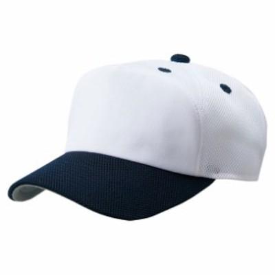 フロントパネル型後メッシュキャップ【ZETT】ゼットヤキュウソフトボウシ(BH158A-1129)