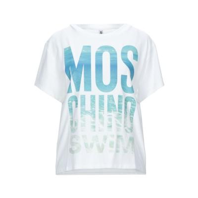 モスキーノ MOSCHINO T シャツ ホワイト XS コットン 92% / ポリウレタン 8% T シャツ