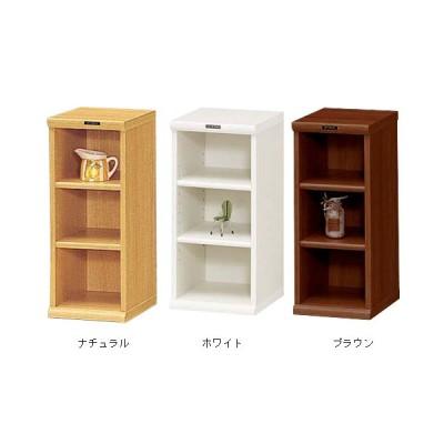 収納ボックス 幅30cm 縦長 白 ブラウン おしゃれ ラック 棚 本棚 高さ60cm