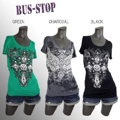BUS STOP[選べる3色]■柔らか薄手ニットトップス