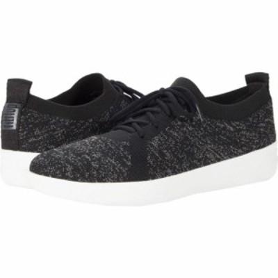 フィットフロップ FitFlop レディース スニーカー シューズ・靴 F-Sporty Uberknit Sneakers Black