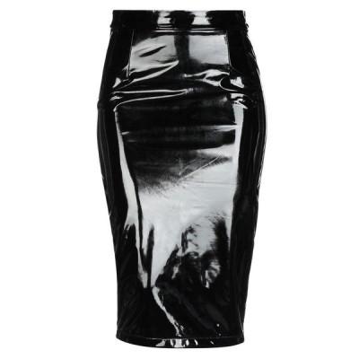 GUESS 七分丈スカート ファッション  レディースファッション  ボトムス  スカート  ロング、マキシ丈スカート ブラック