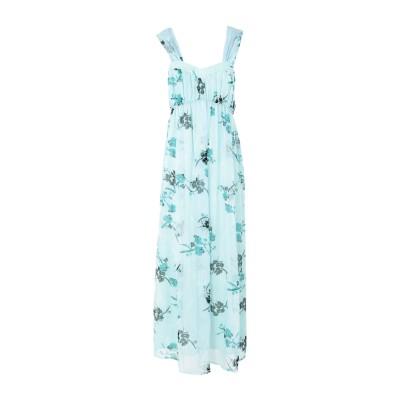 RUE•8ISQUIT ロングワンピース&ドレス スカイブルー 42 ポリエステル 100% ロングワンピース&ドレス