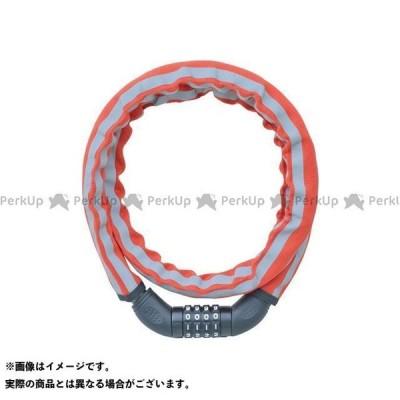【無料雑誌付き】ジェイ&シー(自転車) ダイヤル式ワイヤーロック(JC-065W)φ18mm×1200mm 布カバー 暗証番号変更可能(レッド/反射…