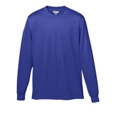 ユニセックス 衣類 トップス 789 Wicking Long Sleeve T-shirt-youth PURPLE L Tシャツ