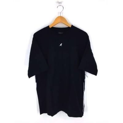 カンゴール KANGOL ワッペンバックロゴTシャツ メンズ M 中古 210409