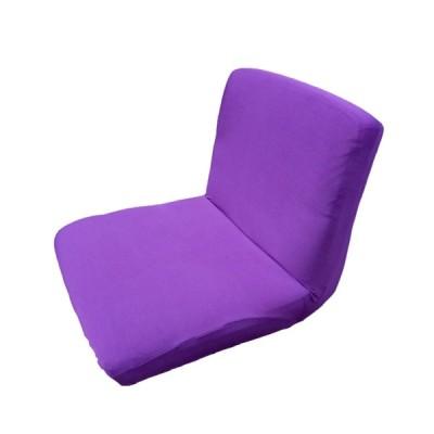 チェア クッション スツールカバー チェアカバー 実用的 便利性 多色選べる - 紫