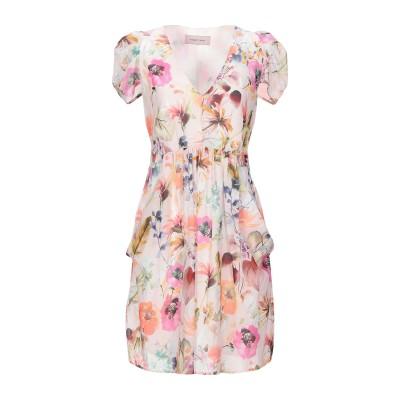TWENTY EASY by KAOS ミニワンピース&ドレス ライトピンク 42 コットン 100% ミニワンピース&ドレス