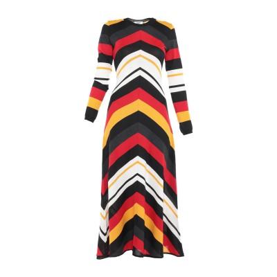 エムエスジーエム MSGM ロングワンピース&ドレス レッド XS ウール 50% / アクリル 50% ロングワンピース&ドレス