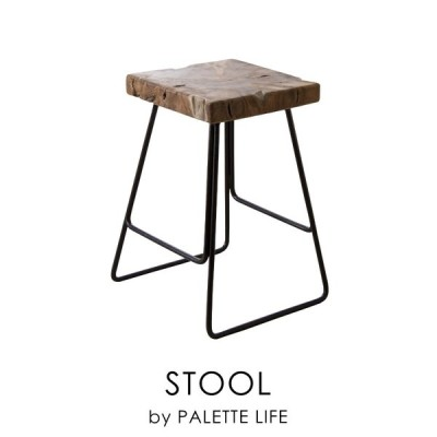スツール チェア 椅子 おしゃれ スチール イス 背もたれなし 四角 カフェ 新生活