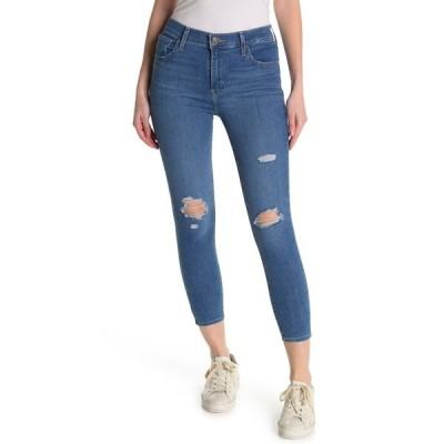 リーバイス レディース デニムパンツ ボトムス 720 Ripped Super Skinny Ankle Jeans QUEBEC CALLS