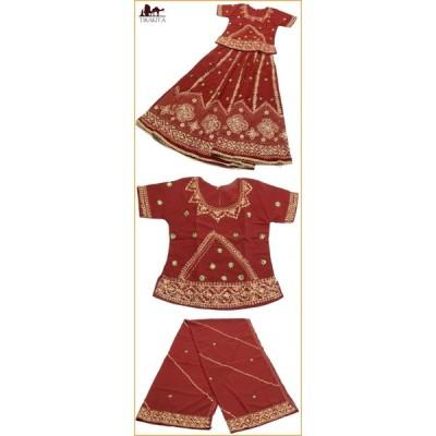 送料無料 インドのドレス チャニヤ・チョウリ サリー レディース 女性物 エスニック衣料