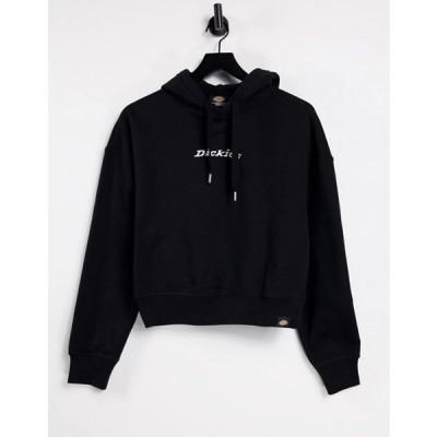 ディッキーズ レディース パーカー・スウェット アウター Dickies Loretto boxy hoodie in black