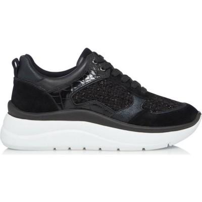 デューン Dune London レディース シューズ・靴 チャンキーヒール Ecuador Mixed Material Chunky Shoes Black