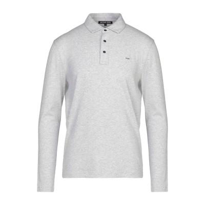 MICHAEL KORS MENS ポロシャツ グレー M コットン 100% ポロシャツ