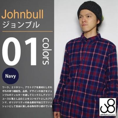 JOHNBULL / ジョンブル - シャーリング チェック 長袖シャツ