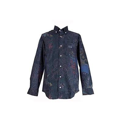 80780 CAPRI カプリ ボタンダウンシャツ 長袖 ブラック 46(M) サイズ メンズ カジュアル 男性 秋冬 春 ゴルフ 通販