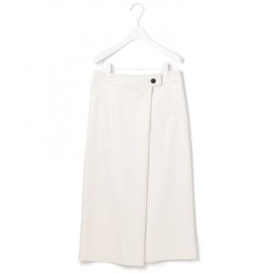 ICB/アイシービー 【洗える】Faux スカート ライトベージュ系 0